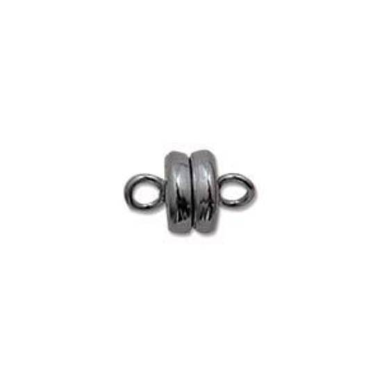 6mm Baby Magnetic Clasp - gunmetal