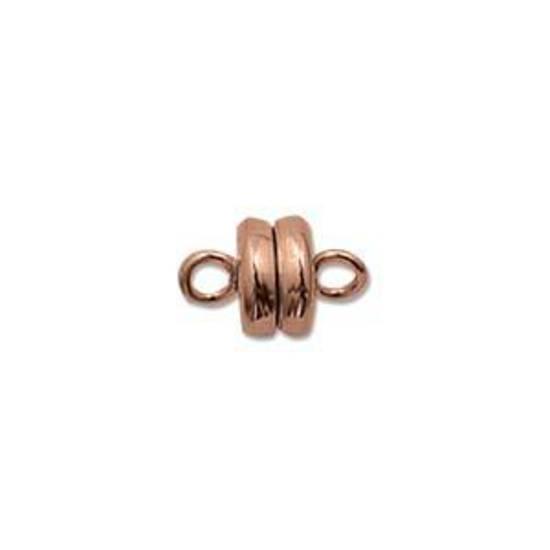 Small Magnetic Clasp - bright copper