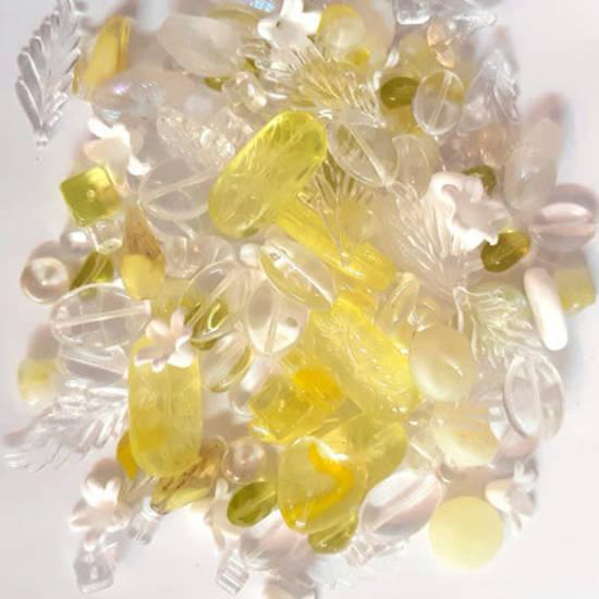 NEW! Pressed Bead Mix - Lemon Ice