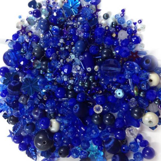 Acrylic/Glass Mix: Blue Ocean