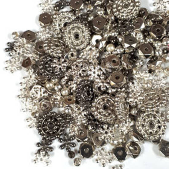 Acrylic Spacer Mix: Silvers