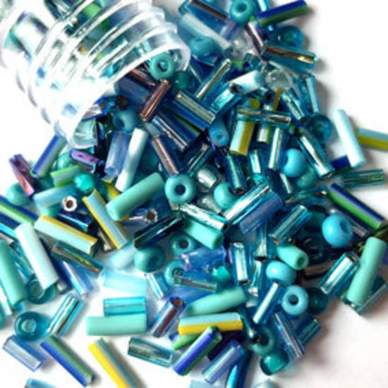 NEW! Vivi's Seed Bead Mix, 15gm - Elsa