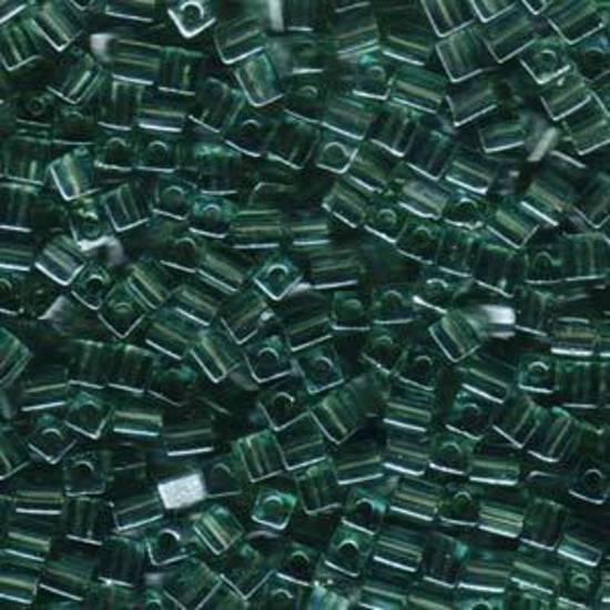 4mm Miyuki Square: 2445 -Seafoam lustre