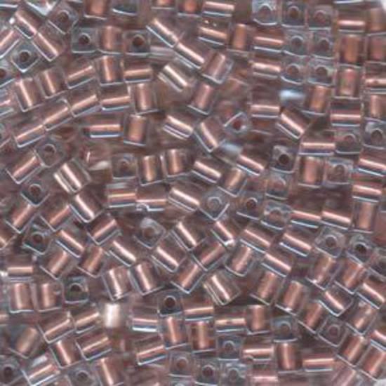 4mm Miyuki Square: 2602 - Metallic Copper, colour lined
