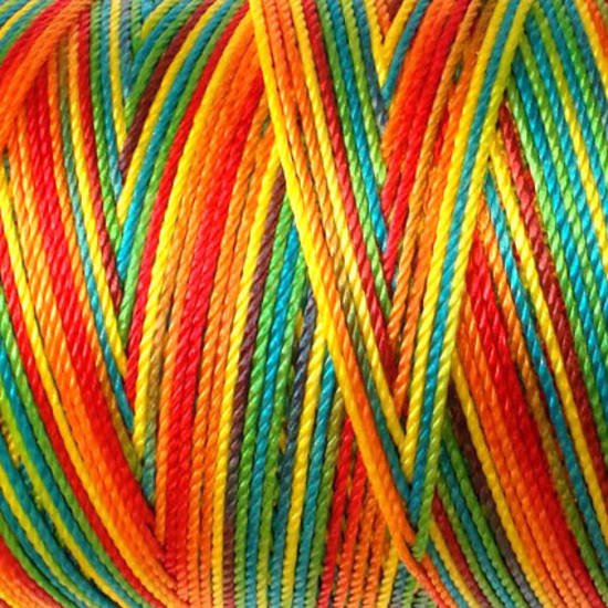 Soft and silky nylon thread: Multi Bright