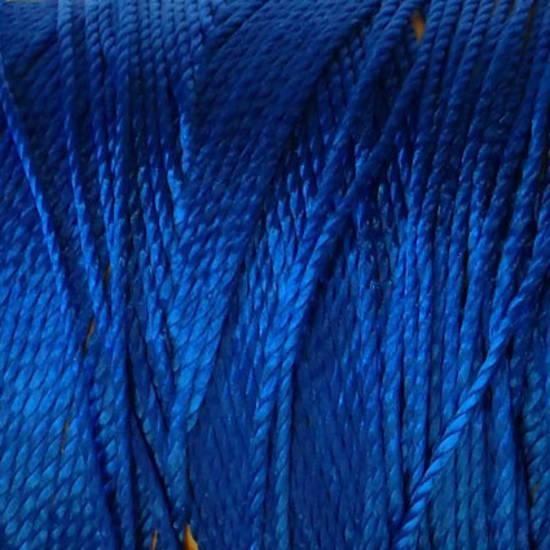 Soft and silky nylon thread: Royal Blue