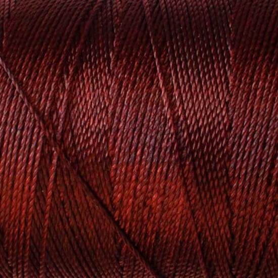 Soft and silky nylon thread: Ruddy Brown
