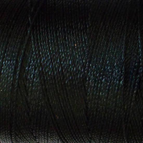 Soft and silky nylon thread: Black