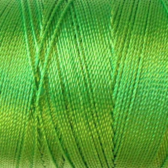 Soft and silky nylon thread: Limey Green