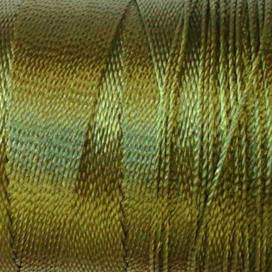 Soft and silky nylon thread: Olive Green
