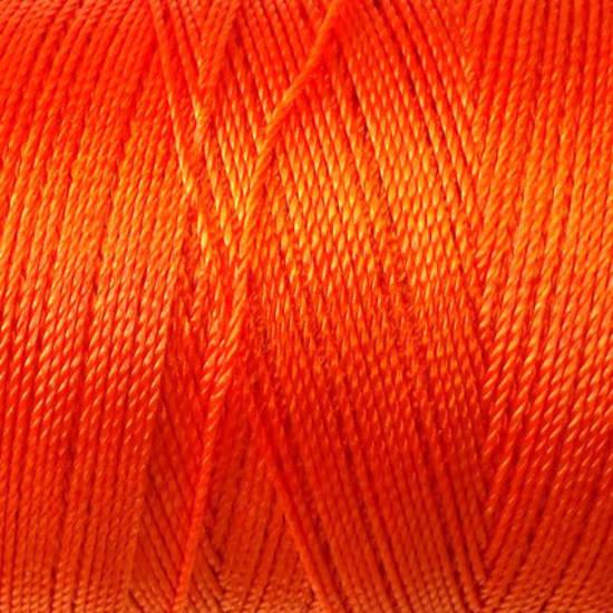 Soft and silky nylon thread: Orange
