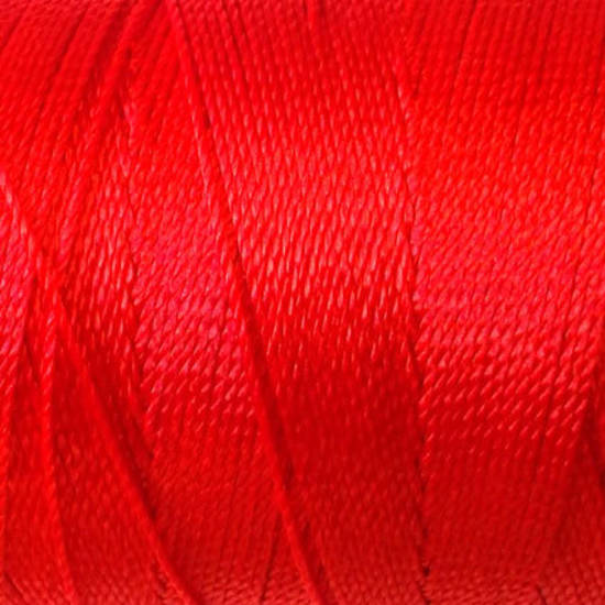 Soft and silky nylon thread: Red