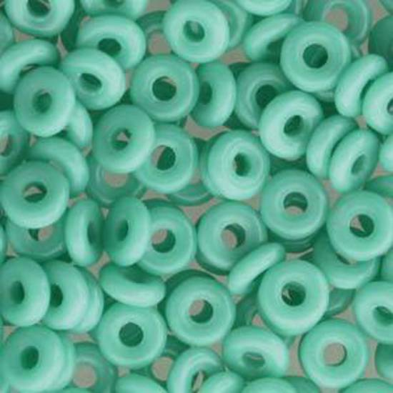 Czech O Bead - Jade