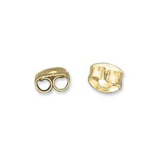 Butterfly earring back - gold