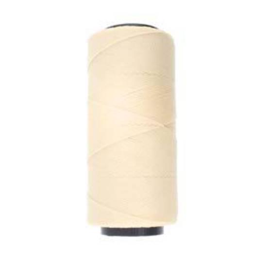 Knot-It Brazilian Waxed Polyester Cord: Cream