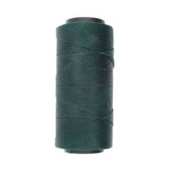 Knot-It Brazilian Waxed Polyester Cord: Dark Green