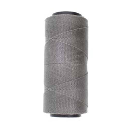 Knot-It Brazilian Waxed Polyester Cord: Grey