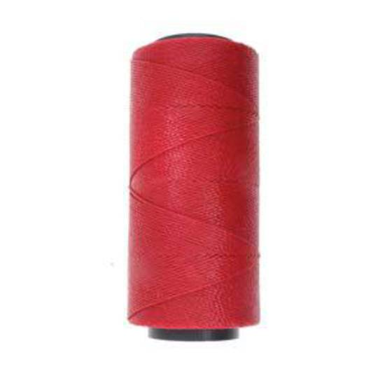NEW! Knot-It Brazilian Waxed Polyester Cord: Dark Red- 144m roll