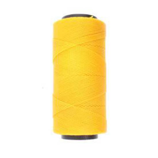 Knot-It Brazilian Waxed Polyester Cord: Golden Yellow - 144m roll
