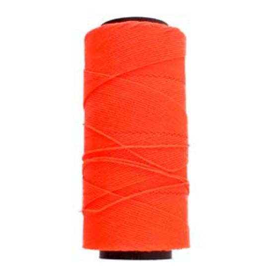 NEW! Knot-It Brazilian Waxed Polyester Cord: Neon Orange