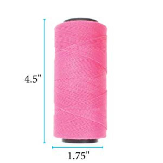 NEW! Knot-It Brazilian Waxed Polyester Cord: Pink