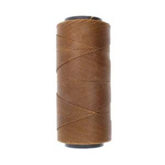 NEW! Knot-It Brazilian Waxed Polyester Cord: Tawny