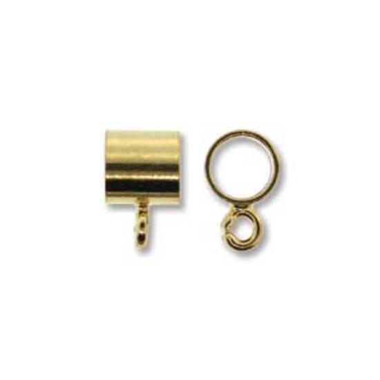 NEW! Pendant Slide Bail, 5mm - Gold