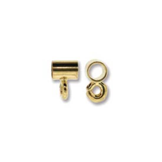 NEW! Pendant Slide Bail, 4mm - Gold