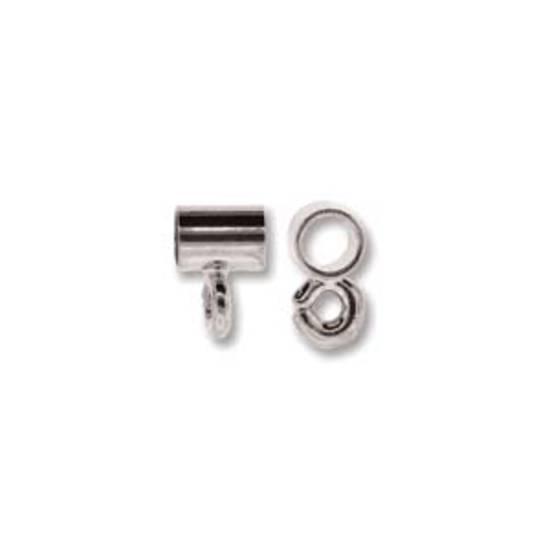 NEW! Pendant Slide Bail, 4mm - Silver