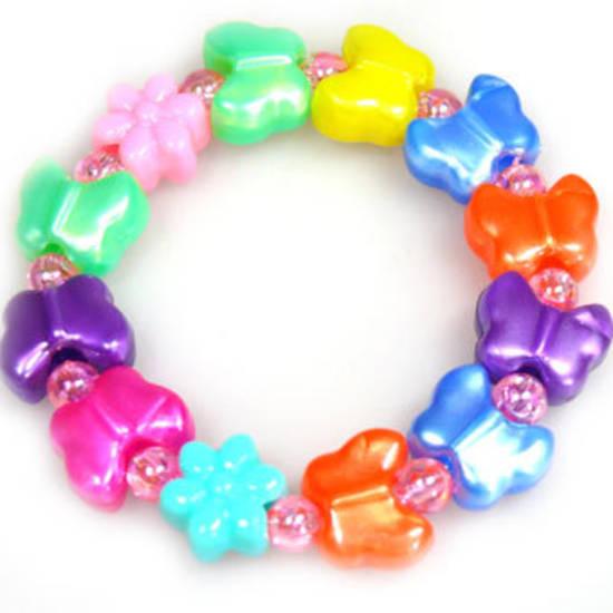 Kids Party Pack - acrylic butterflies.  8 - 10 children