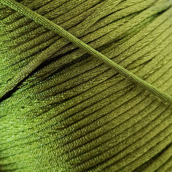 Satin Rats Tail Cord (2mm) - Olive green