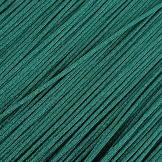Satin Rats Tail Cord (2mm) - Emerald