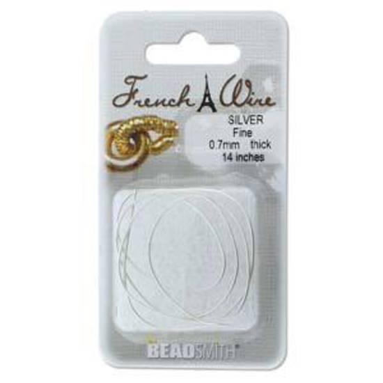 Fine French Wire (Gimp): Silver