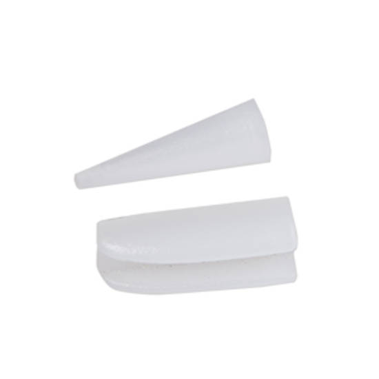 Replacement Nylon Jaw Tips: Round/Flat Nose