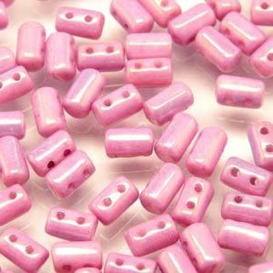 Rulla Bead: Chalk Lilac Lustre