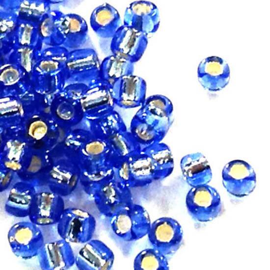 Matsuno size 11 round:  19 - Light Sapphire, silver lined