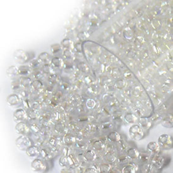 Matsuno size 11 round: 250 - Crystal Clear AB