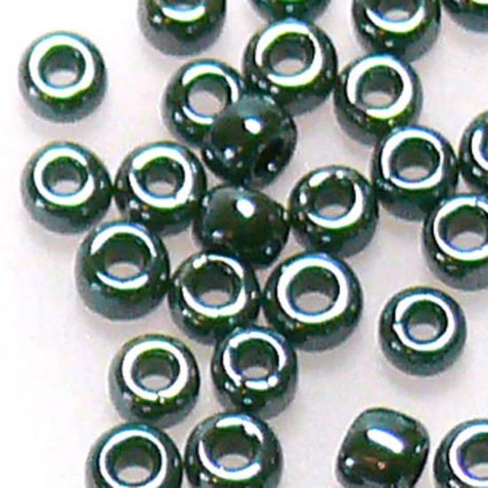 Toho size 11 round: 431B - Gungy Green Opal