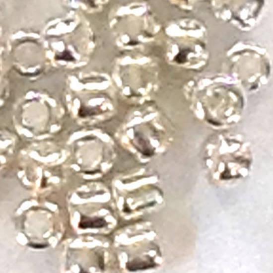 Matsuno size 11 round: 470 - Metallic Silver (plated)