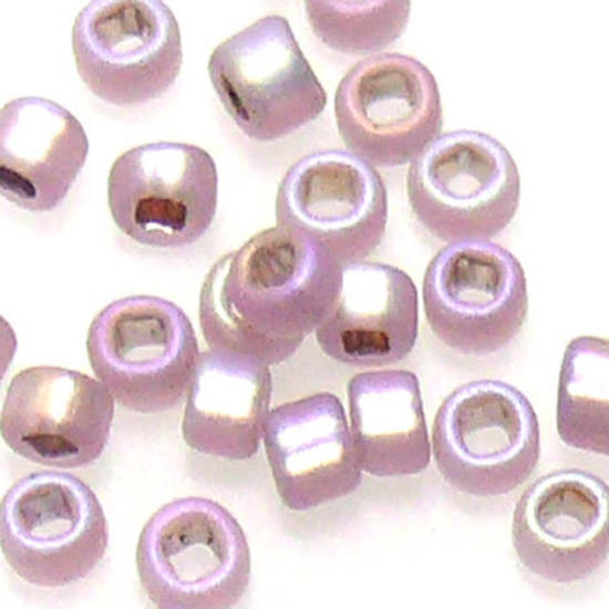 Matsuno size 11 round: F640 -Frosted  Amethyst Shimmer