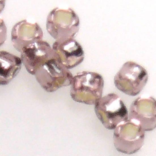 Miyuki size 15 round: 12 - Light Amethyst, silver lined