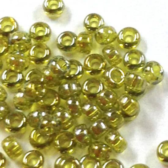 Miyuki size 15 round: 3318J - Light Olive Shimmer