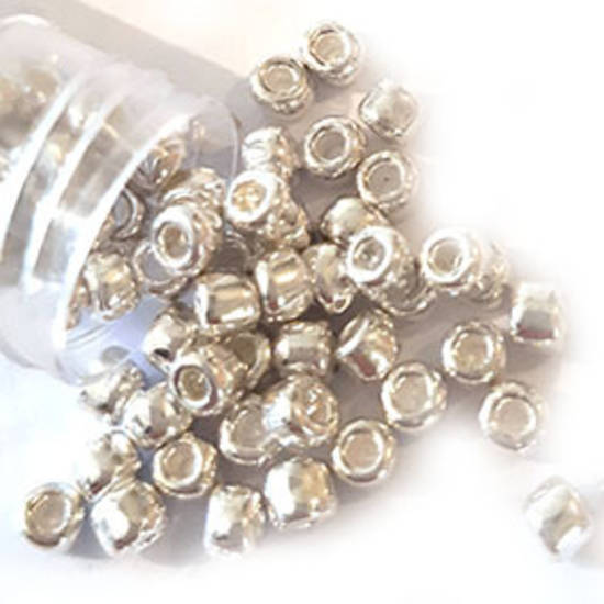 Matsuno size 6 round: 470 - Metallic Silver