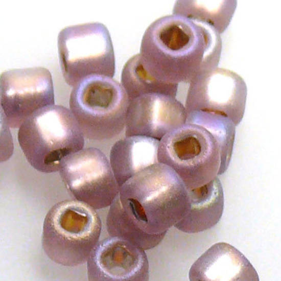 Matsuno size 8 round: F640 - Frosted Amethyst Shimmer
