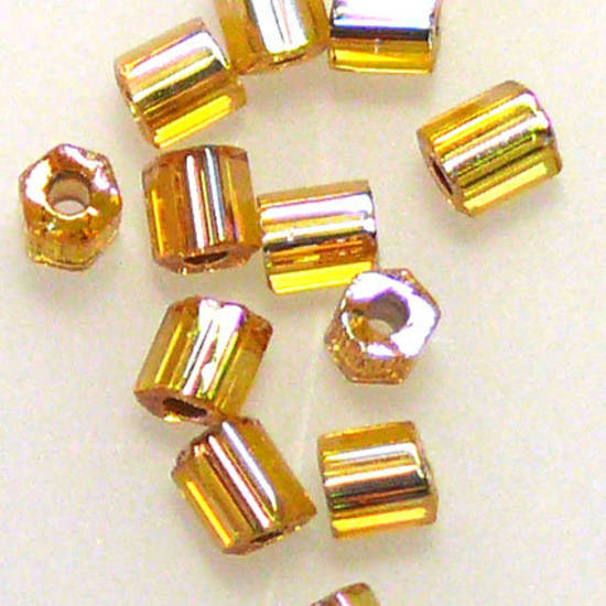 Miyuki size 8 hex: 634 - Gold Shimmer