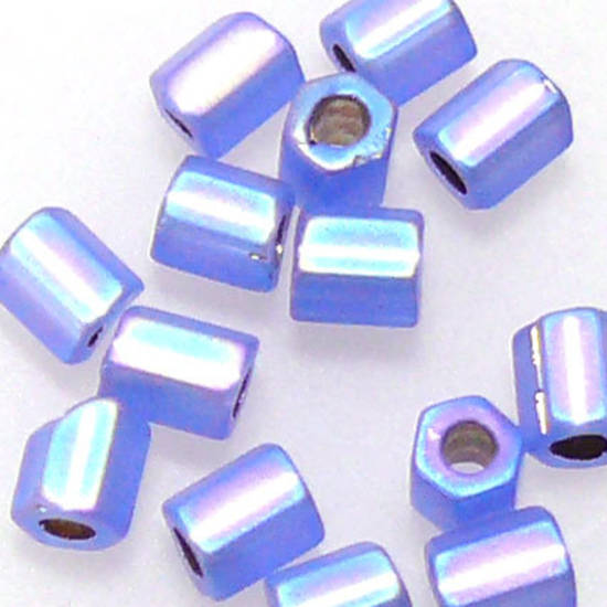 Matsuno size 8 hex: F642 - Frosted Sapphire Shimmer
