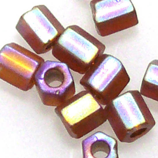 Matsuno size 8 hex: F648 - Frosted Brown Shimmer