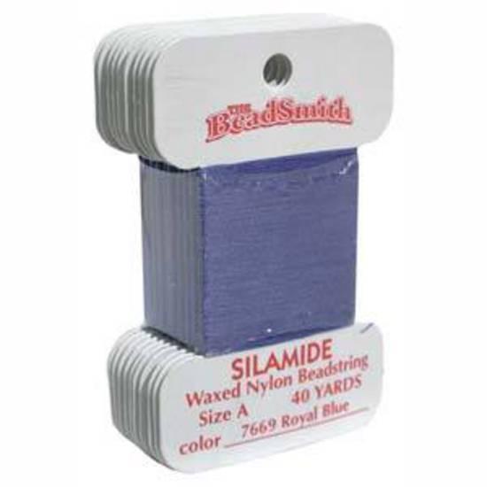 Silamide: 40 yard card - Royal Blue