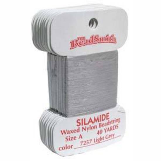 Silamide: 40 yard card -Light  Grey
