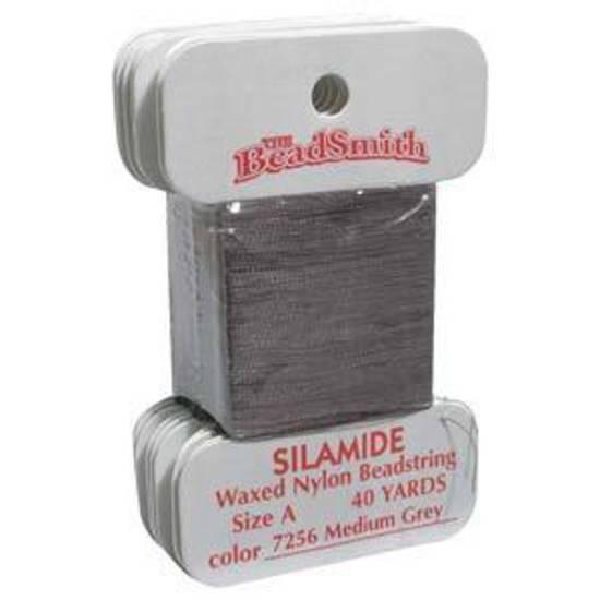 Silamide: 40 yard card - Medium Grey